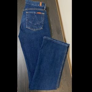 7 for all Mankind - A Pocket Jeans - Size 31